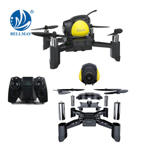 Bricolage Mini Pocket Racing Drone Headless Mode Nano LED RC Quadcopter Altitude Tenir bon pour les débutants