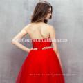 Китай завод питания красный цвет вечернее платье дешевой цене с плеча сплошной красный цвет платья невесты 2017