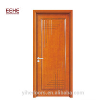 Malaysia Wood Door with Simple Teak Wood Door Designs Guangdong Factory