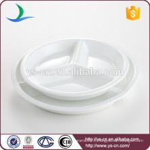 Plateau à dinde ronde en porcelaine