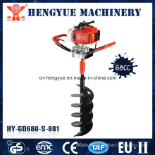 2 Strokes 68cc High Quality Ground Drill Machine