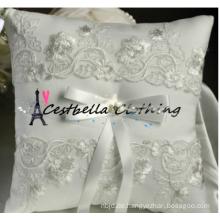 Heißes Ring-Trägerkissen-Spitzehochzeitsringkissen, Hochzeitsringkissenhersteller, Hochzeitszusatzringkissen