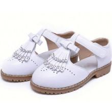 Весенняя мода девушки кожаные ботинки детей дети девочек принцесса обувь