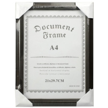 Office Tabletop Plastic Document Frame