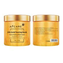 Gold Face Mask OEM /ODM 24K Gold Facial Mask Sheet Manufacture Hydrating Mask