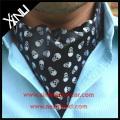 China Manufacturer Handmade Gentleman Cravat with Custom Paisley Ascot Tie