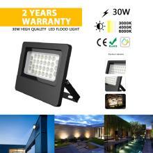 Lâmpada LED para exterior com holofote 30W