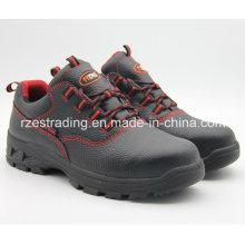 2016-China Mens Steel Toe Sicherheitsschuhe, mittlerer Schnitt Bergbau Schuhe
