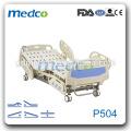 Medco P504 ICU Five Function Electric Hospital Medical Bed avec rail latéral ABS à vendre