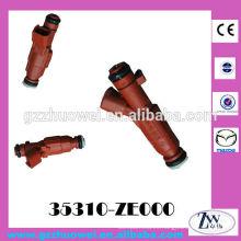Inyector de boquilla Boquilla de inyección de combustible de coche Mazda Boquilla de inyector original Denso 35310-ZE000