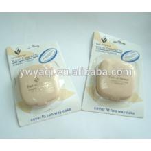 destino de los envases de polvo compacto caso flor cosmeticos polvo compacto