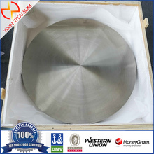 ASTM B381 Titanium disc dengan diameter 600mm