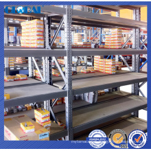 Pre galvanized medium duty multi-layer shelving system
