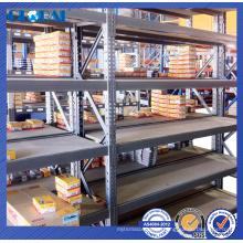 Sistema de prateleiras de várias camadas para serviços médios pré galvanizado