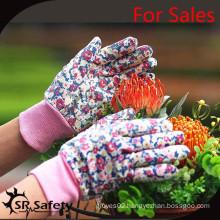 SRSAFETY sales good gardening gloves in china 2015,garden used working gloves in outdoor
