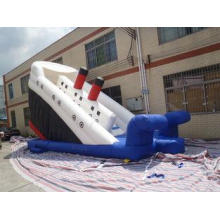 Titanic Commercial Inflatable Slide / Climbing Jumping Slid