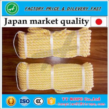 Qualidade japonesa 3 fios kp corda torcida feita a partir de pe monofilamento e fio de poliéster