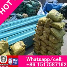 Xingmao Exporting 86-15175871625 Barreira de choque de vigas de metal em estradas, barreira de tráfego em rodovias