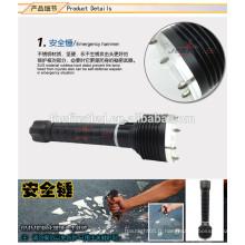Lampe à LED High Power 3T6 CREE XM-L2 à lampe LED à auto-défense Tactical
