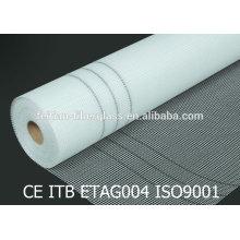 Профессиональное изготовление 4x4mm 160g / m2 ткани ткани сетки стеклоткани