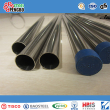AISI 304 Stainless Steel Seamless Pipe with SGS