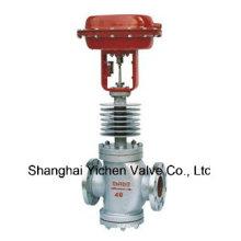 Válvula neumática de control de alta temperatura (GZJH)