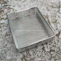 Cestas de placas perforadas de acero inoxidable