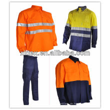 Australien Markt UPF 50 + 100% Baumwolle Anti-UV-Arbeitsanzug