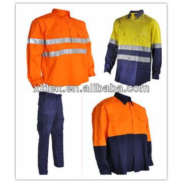 El mercado de Australia UPF 50+ 100% algodón anti uv traje de trabajo