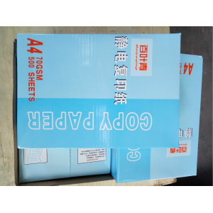 100% Wood Pulp Waterproof Copy Paper for Printing
