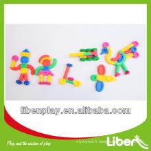 Blousons en plastique pour enfants Jouets en blocs en plastique Série LE.PD.012