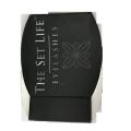 Черная матовая ламинированная акриловая бумага для ресниц