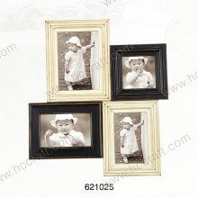 Cadre photo en bois avec laser en ouverture multiple