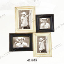 Wooden Photo Frame with Laser in Multiple Opening