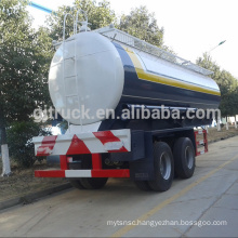 2 axle truck trailer/Double axle trailer/Dual axle tank trailer,32CBM tank trailer/32000L chemical tank trailer/Stainless tanker