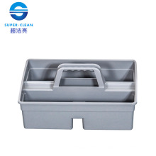 Plastic Small Tool Bucket in Gray (S) (B-039B)