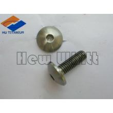 Parafusos de botão de soquete sextavado de alta qualidade Ti6AI4V