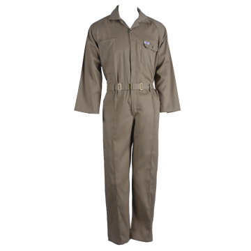 Portable labor coverall workwear uniform