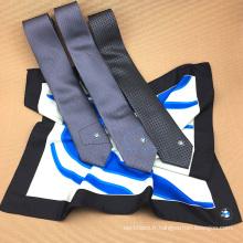 Chine en gros Custom Design impression numérique 96 x 96 cm carrés écharpes avec cravate assortie