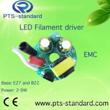 2W/3W/4W/5W/6W/7W/8W E14 LED Driver for Filament Bulb with EMC