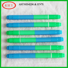 Double Colors Twin Tips LED board Highlighter Marker Pen Chalk Board Markers