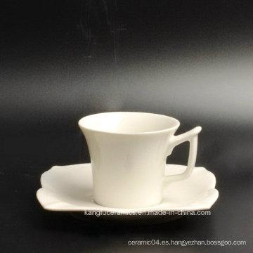 Juego de té especial de porcelana y plato de porcelana
