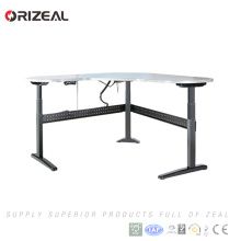 2018 best selling Wholesale Adjustable Height Desk Electric Office Standing Computer Desk with lifting column