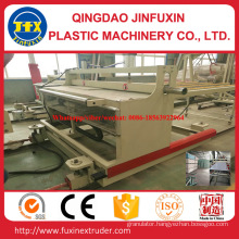 PVC Construction Crust Foam Sheet Machinery