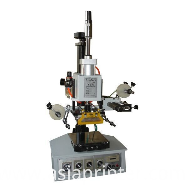 Small plane hot foil stamping machine