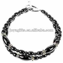 Mode Hämatit Reis Perlen Armband