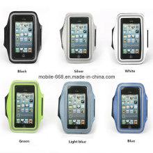 Sac de brassard de sport de taille de SML trois pour l'iPhone 6 5s / Samsung S6 S5