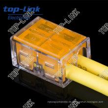 Elektrischer Klemmenblockstecker mit 2-Leiter