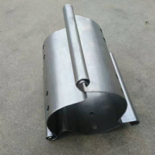 Aluminium steel rolling door making machine