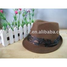 мягкая фетровая шляпа